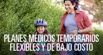 Planes médicos temporarios flexibles y de bajo costo